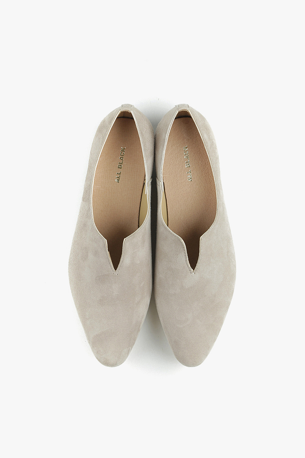 Sheep Suede Pointed Flats